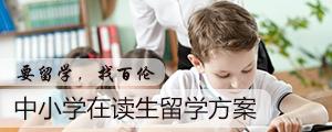 中小学在读生留学方案